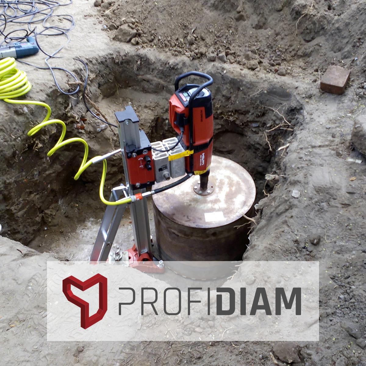ProfiDiam - Odwiert w studzience telekomunikacyjnej