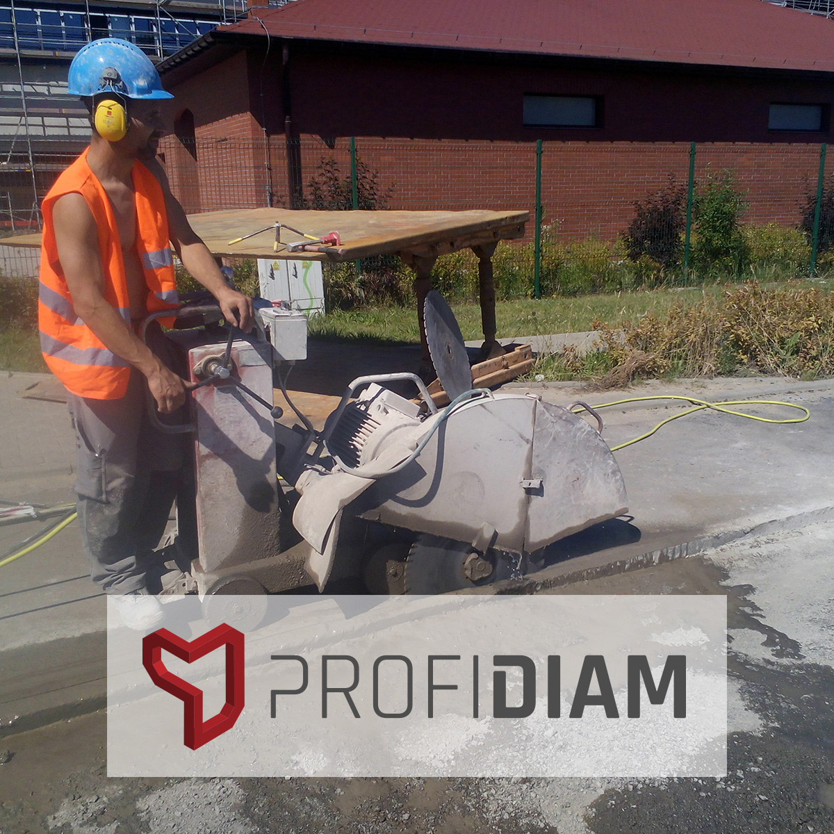 ProfiDiam - Cięcie asfaltu.