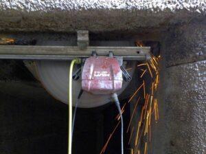 Wycinanie stropów betonowych
